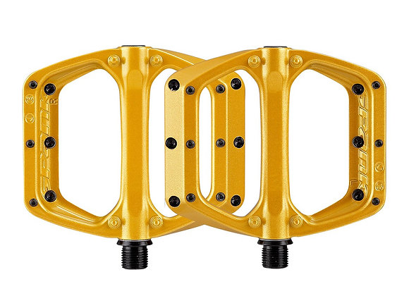 SPANK PEDALS SPOON DC - GOLD