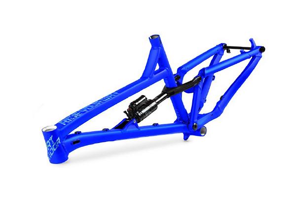2021 Dartmoor Blackbird 27.5 Frame - Matt Space Blue
