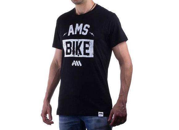 AMS BIKE BLACK TEE