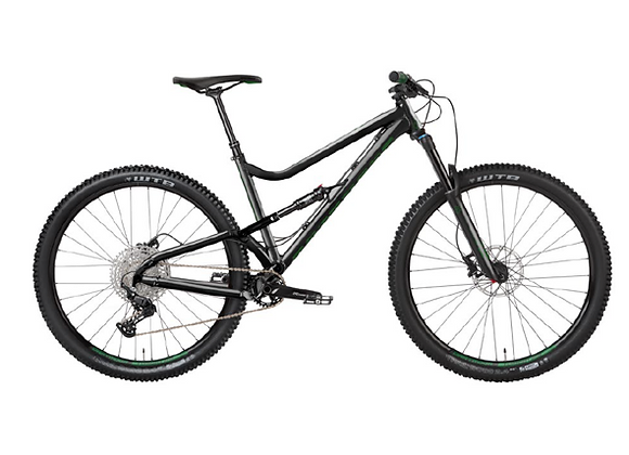 2021 Dartmoor Bluebird Evo - Glossy Black/Forest Green 29