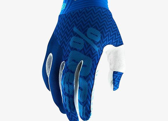 100% GLOVES ITRACK - BLUE/NAVY