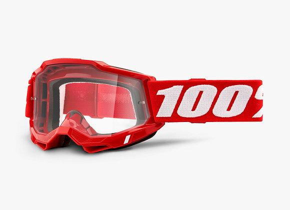 100% GOGGLES ACCURI2 - NEON RED