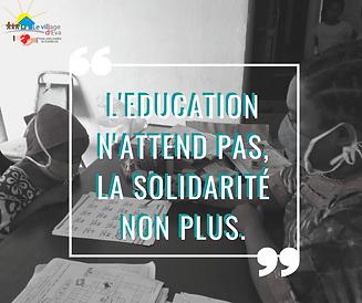 L'education_n'attend_pas._La_solidarité