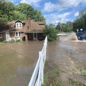 Corner of Creek Road and Friendensville