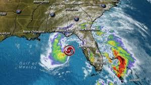 Subtropical Storm Alberto strikes Florida Panhandle near Panama City Beach