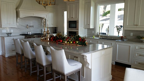 kitchen marble installation