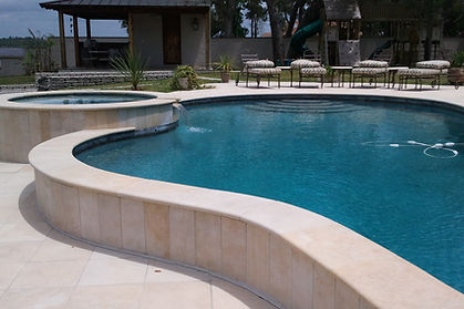 outdoor granite installation