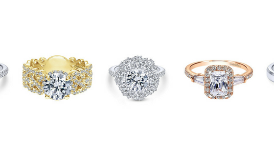 Halos, Emeralds and Solitaires, Oh My!