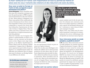 Optimal Cost in French magazine L'Express