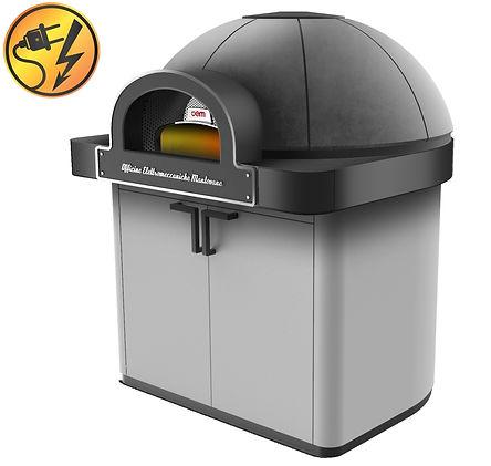 dome oem ali pizza oven єлектрическая неаполитанская печь