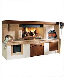 кухонные комплексы на дровах piazzetta