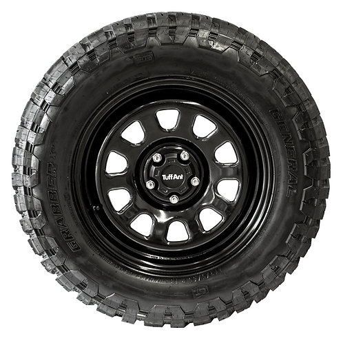 Set of 5 - TuffAnt Original 18x8 Steel Wheels For Discovery 4