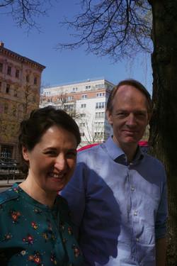 Antonia Low and Tommy Støckel