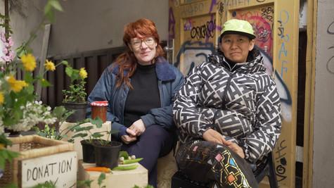 Anne Duk Hee Jordan & Pauline Doutreluin
