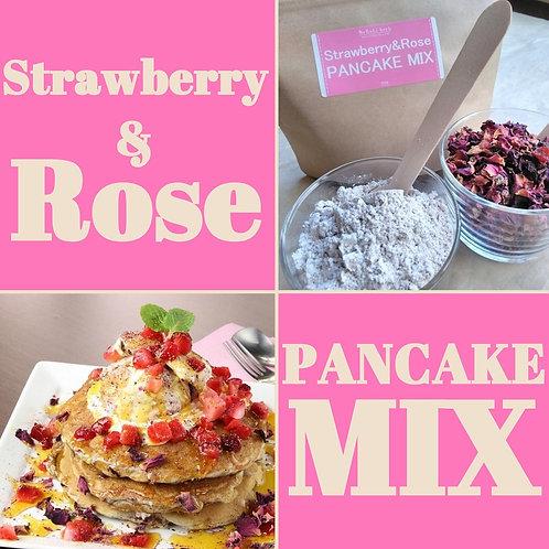 Strawberry&Rose PANCAKE MIX