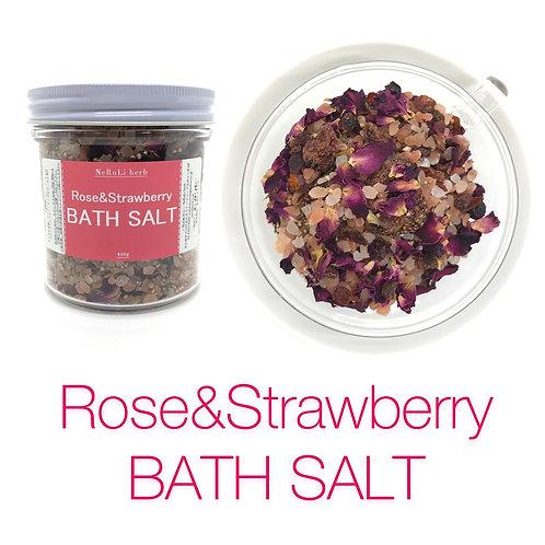 Rose&Strawberry BATH SALT