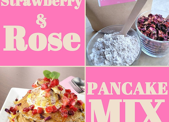 Strawberry&Rose Pancake Mix