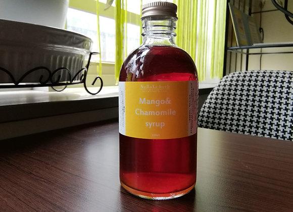 Mango&chamomile Syrup