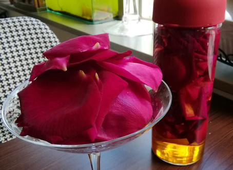 薔薇のお酒