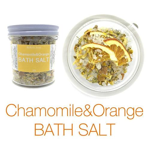 Chamomile&Orange BATH SALT