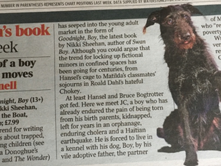 Goodnight Boy is the Times Book of the Week!