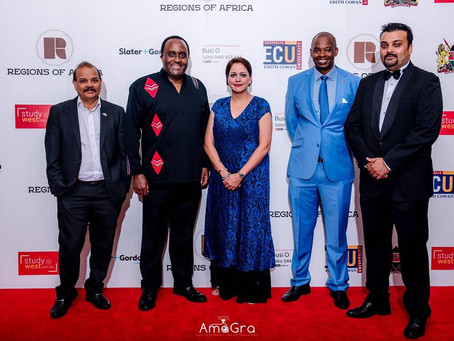 Regions of African Gala Ball 8th Sep 2017