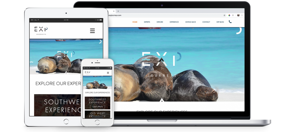 EXP Journeys Company Website