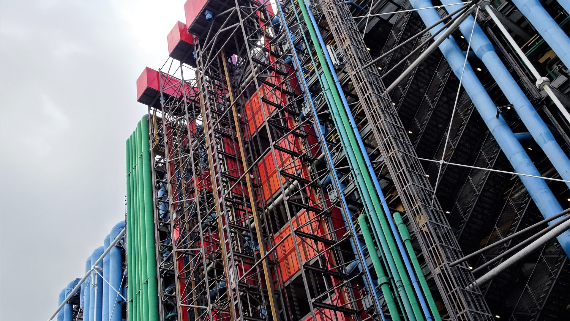 Centro Pompidou. París, Francia.