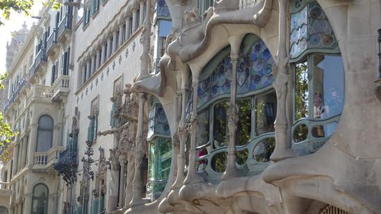 Casa Batlló. Barcelona, España.
