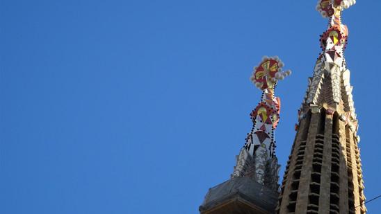 Catedral de La Sagrada Familia. Barcelona, España.