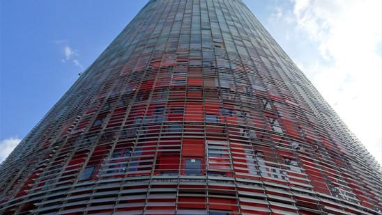 Torre Glòries. Barcelona, España.