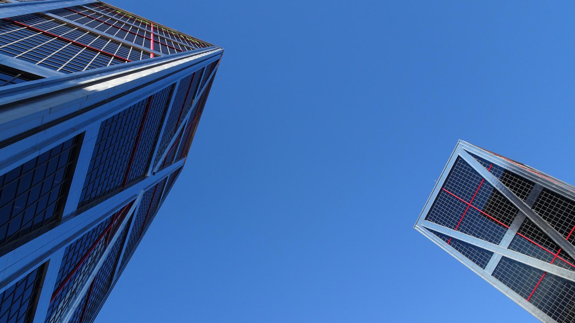Kio Towers. Madrid, España.