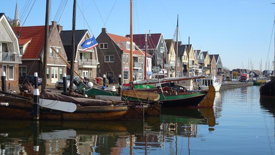 Puerto y Astillero. Urk, Holanda.