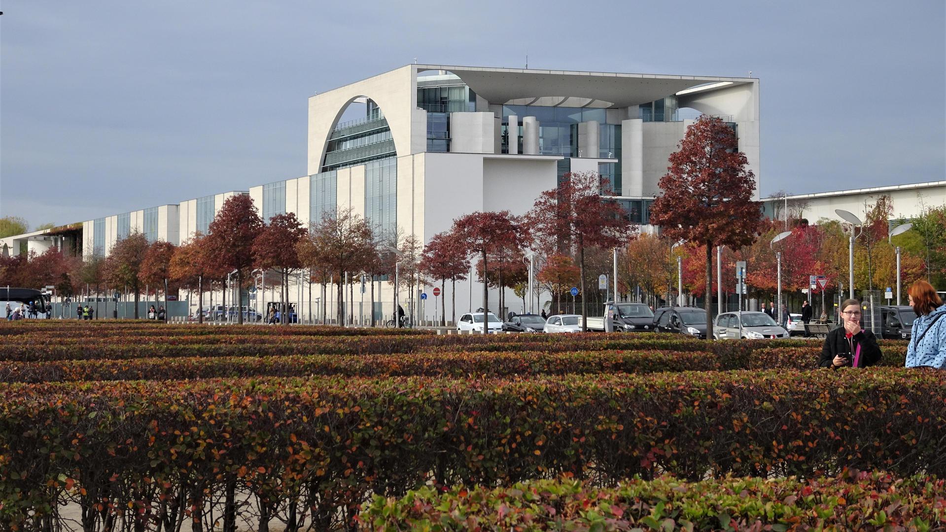 Bundeskanzleramt. Berlin, Alemania.