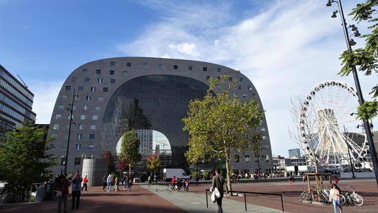 Market Hall. Róterdam, Holanda.