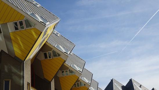 Kubuswoning. Róterdam, Holanda.