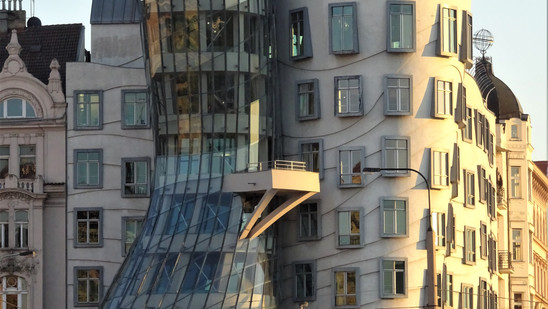 Dancing House. Praga, Rep. Checa.