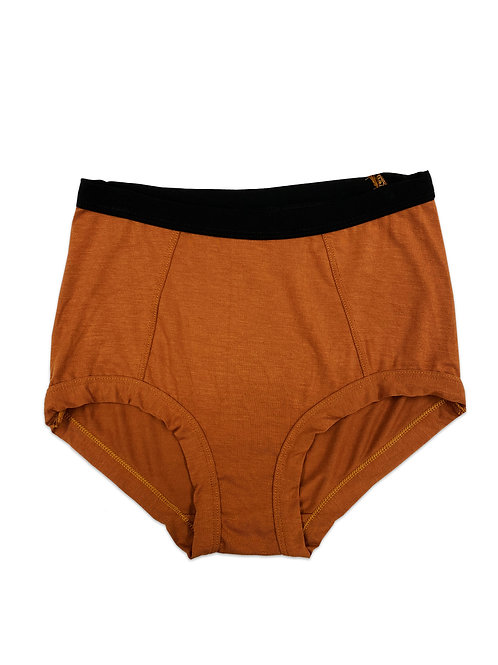 High Waisted Copper