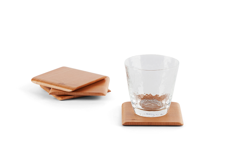 Traditional Japanese Cherry Coaster