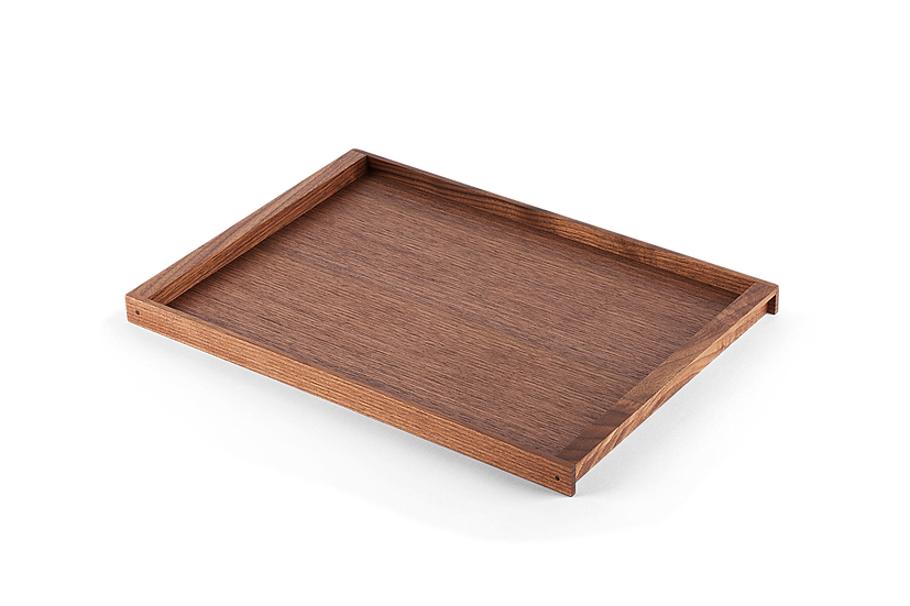 Fabulous Japanese Walnut Tray, Large