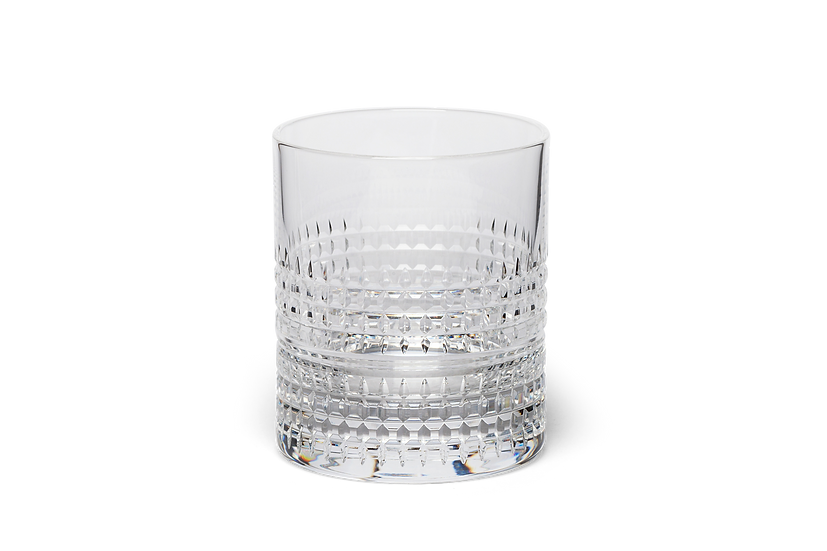Superb Hand Cut Crystal Whisky Glass