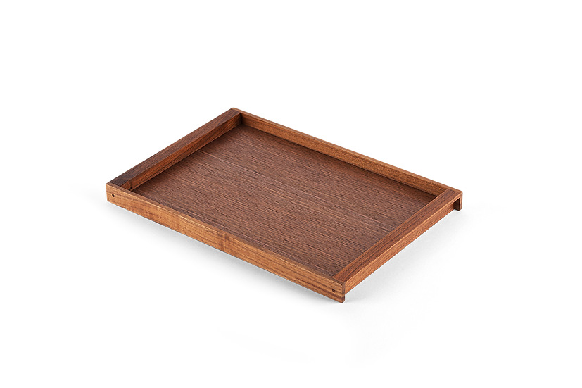 Fabulous Japanese Walnut Tray, Medium