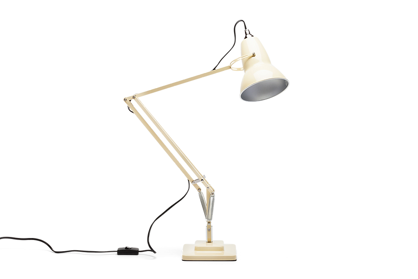 Iconic British Ivory Cream Desk Lamp