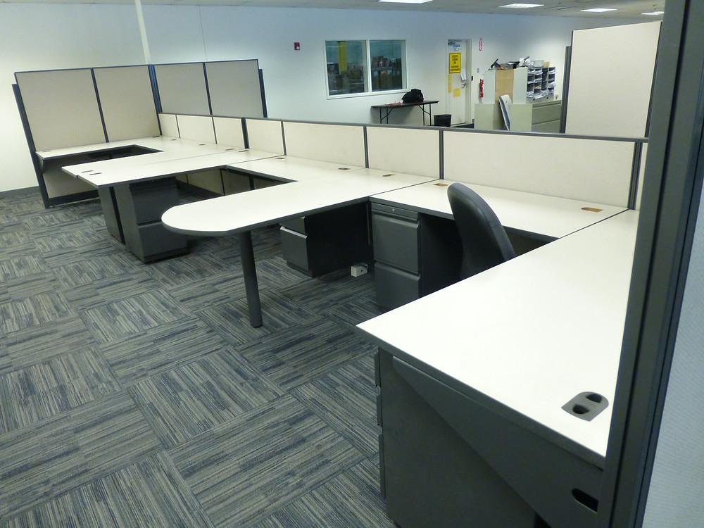 Used U Shape Workstations