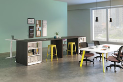 Hon Island With Bookcase