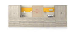 HON-Workwall with Storage