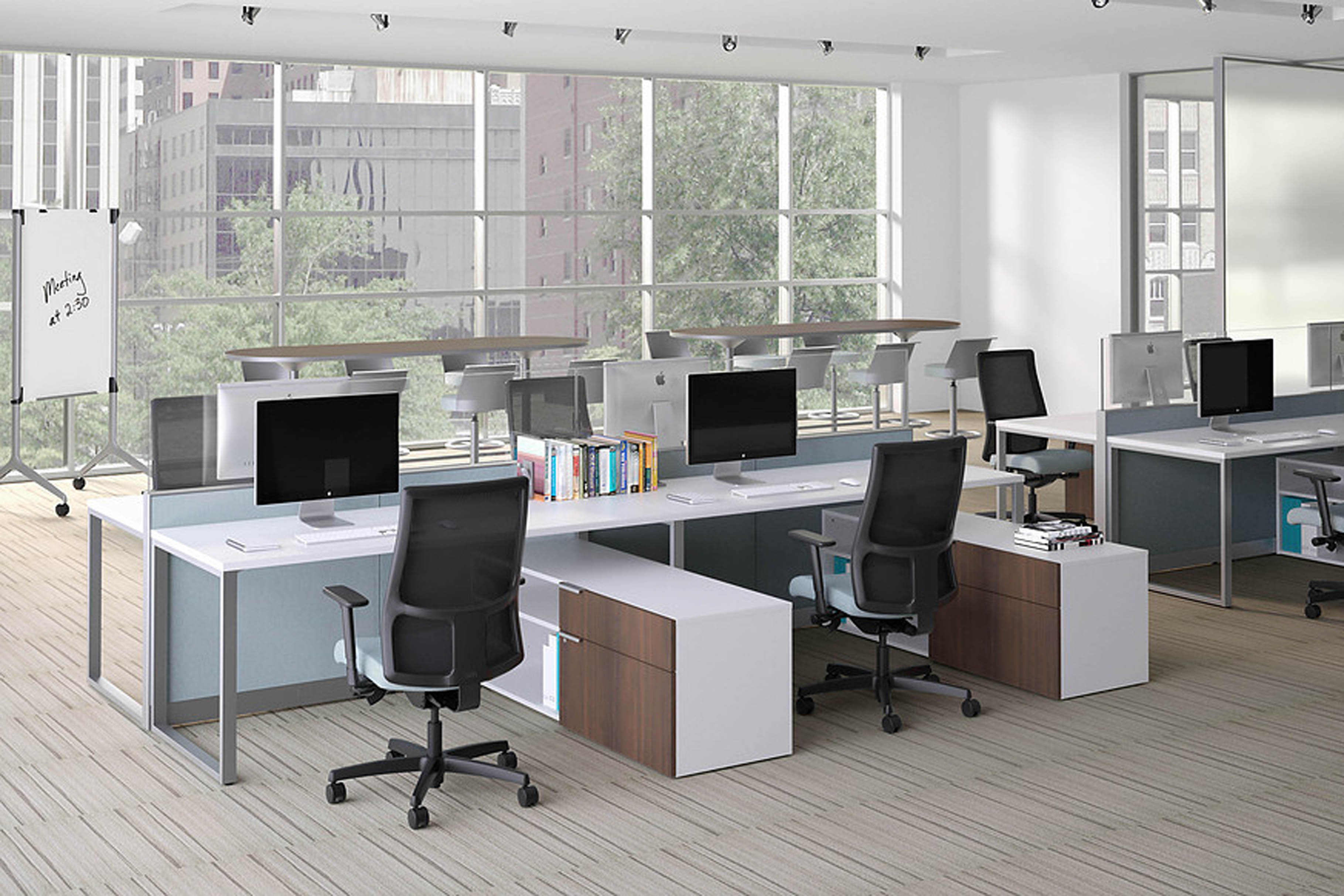 Abound Benching Workstations