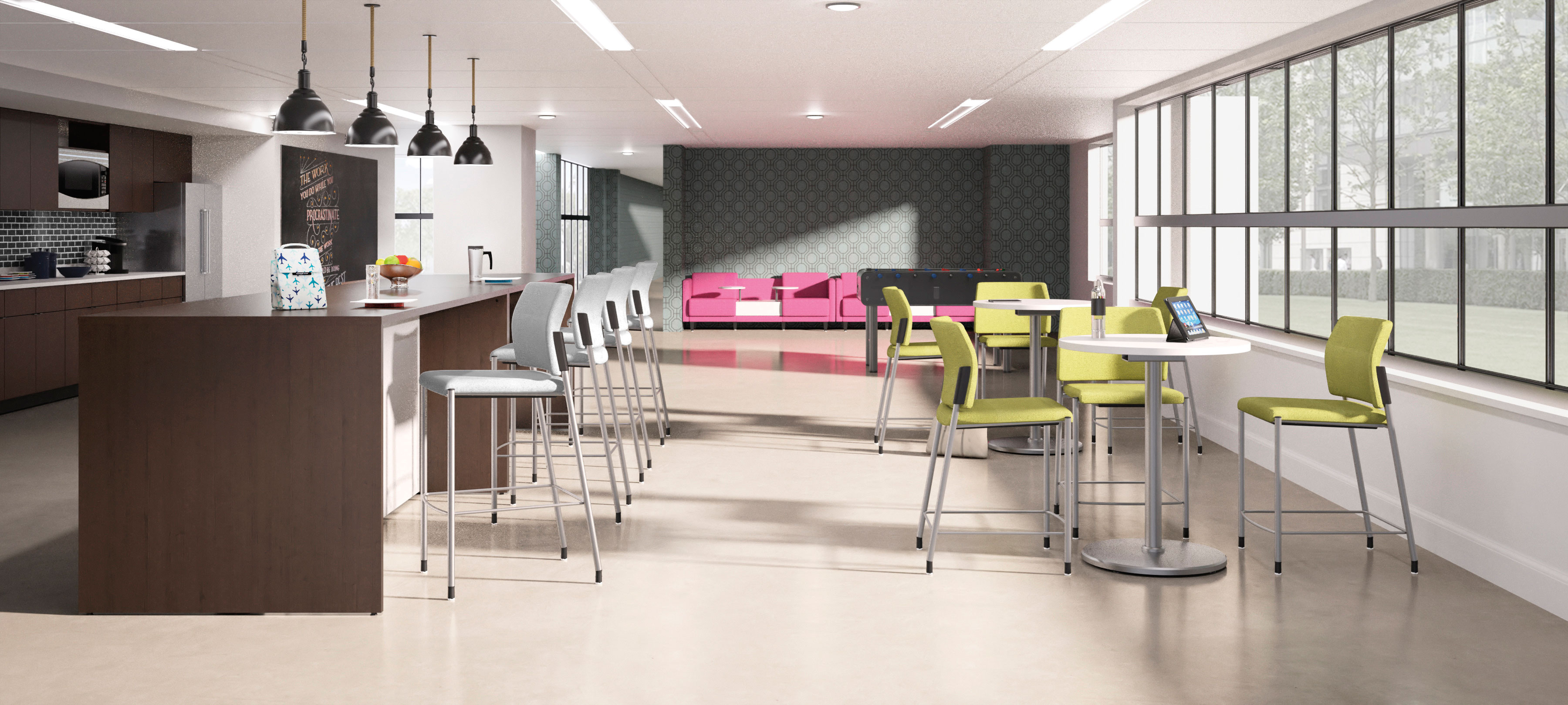 Collaborative Tables and Seating