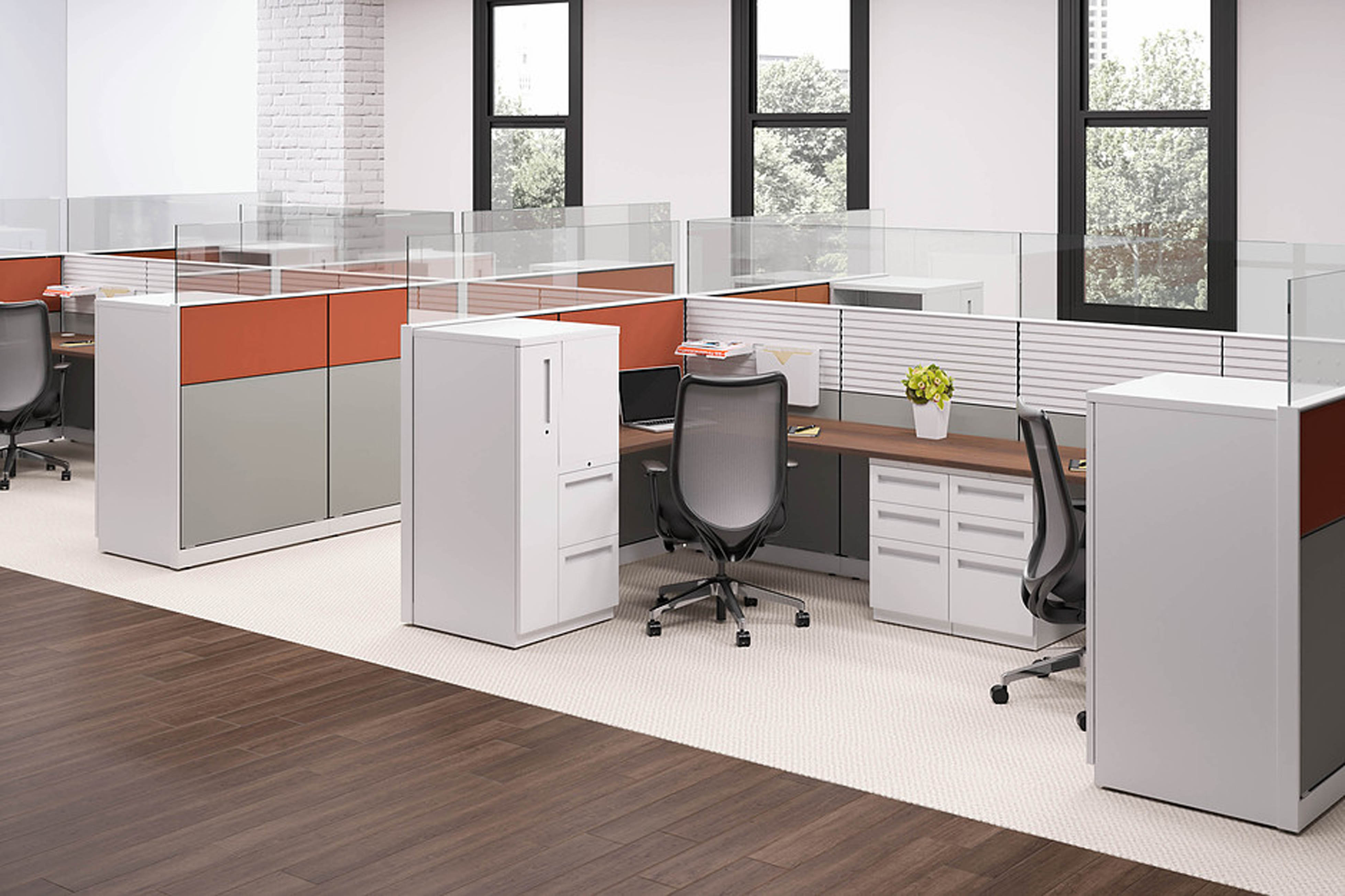 Abound Tiled Workstations