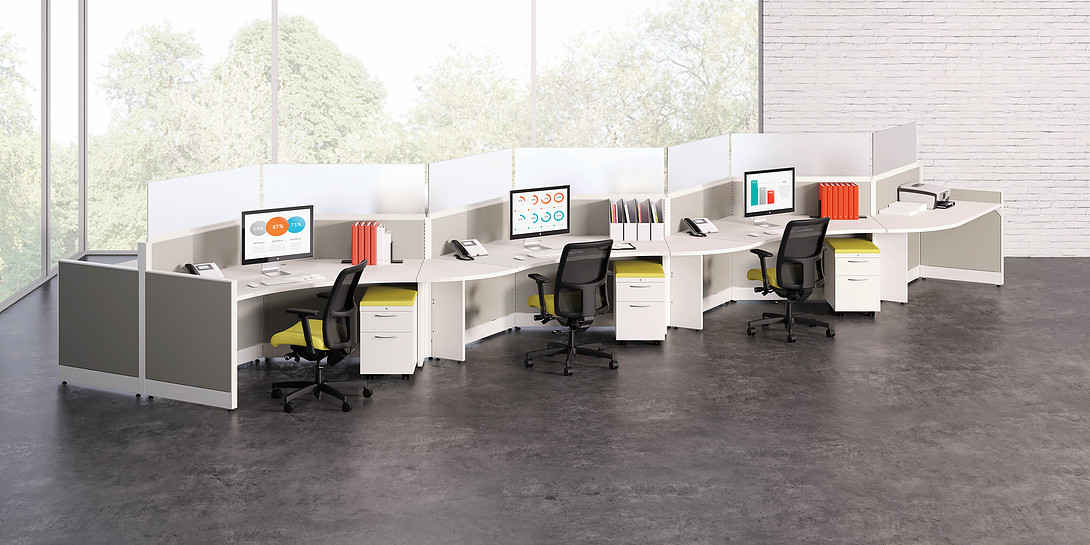 Accelerate 120 Degree Workstations